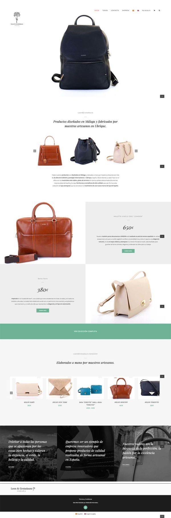 leon y grotadaura - Tienda online